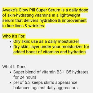 Ulta Beauty Skincare - Ulta AWAKE  Glow Pill Super Serum